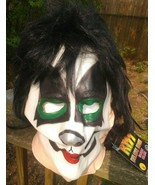 Kiss Catman Peter Criss Latex rubber Deluxe Halloween mask New 2011 Free... - £34.69 GBP