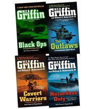PRESIDENTIAL AGENT Military Fiction Series by WEB Griffin Set of Books 4-8 - $35.99
