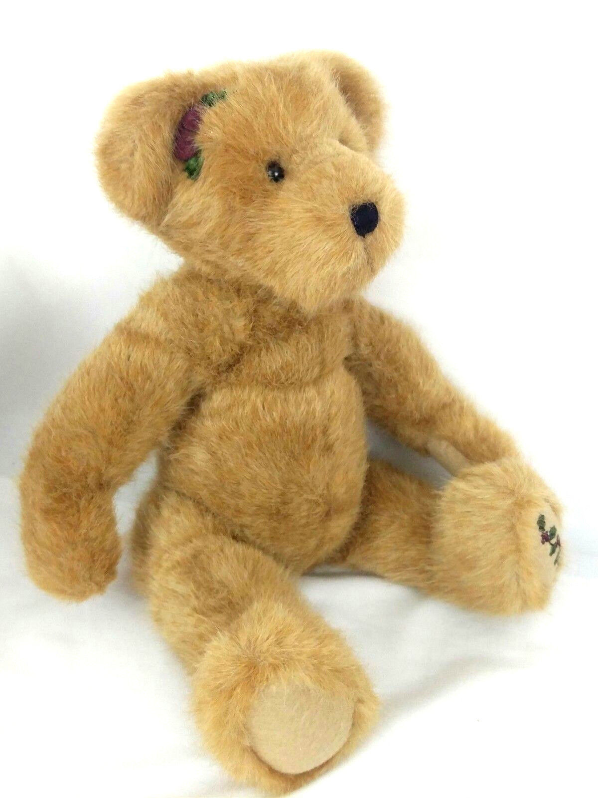 Boyds Collection 1988 - 2003 Brown Teddy Bear Plush Movable Body Jointed Holly