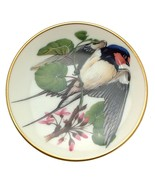Songbirds of the World Barn Swallow Miniature bird plate CP2443 - $16.80