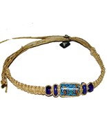 "3 NEW Butterfly 12"" Hemp Bracelets Anklets wrist jewelry - $9.99"