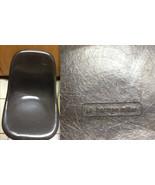 EAMES CHARCOAL Gray or Dark Brown Fiberglass Side Shell Herman Miller Ch... - $290.07