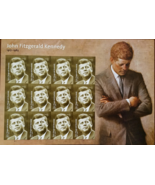New! Jiohn Fitzgerald Kennedy  (USPS)  FOREVER Stamps 12 - $7.95