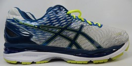 Asics Gel Nimbus 18 Sz US 15 M (D) EU 50.5 Men's Running Shoes Silver Blue T600N