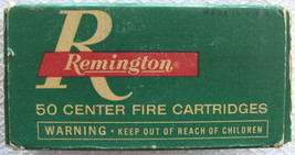 Remington 32 S & W Index 1132 Empty Cardboard Box - (sku# 4907) - $12.88