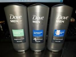 X1 Dove men + care sensitive shield X2 Hydration Balance body wash 18 fl oz - $26.68
