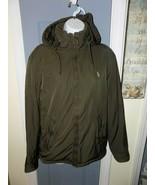 Ralph Lauren Polo Jacket Coat Zip Olive Green Size S Men's EUC - $68.85