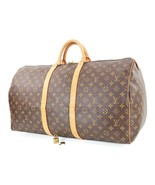Authentic LOUIS VUITTON Keepall 55 Monogram Canvas Duffel Bag #32710 - $695.00