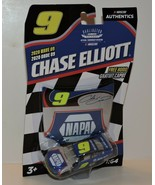 2020 CHASE ELLIOTT DARLINGTON THROWBACK #9 NAPA NASCAR AUTHENTICS 1:64 - $9.85