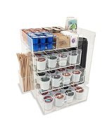 OnDisplay Acrylic Coffee Station with Drawers for Keurig K-Cup Coffee Pods - $80.10