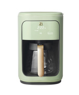 Programmable Touchscreen Coffee Maker, Sage Green by Drew Barrymore Beau... - $169.99