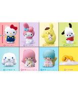 Hello Kity Sanrio Characters Friends Mini figure All 8 type set Full BANDAI pvc - $45.00