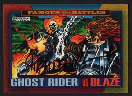Pat Broderick SIGNED 1993 Marvel Universe Trading Art Card ~ Ghost Rider & Blaze - $16.82