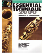 Bass Clarinet Method Book Essential Elements 3 Techniques 2000 with CD  - $4.74