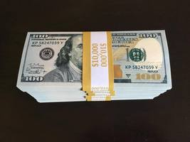 50.000 Prop Money Replica 100s New Style All Full Print For Movie Video Etc. - $95.99