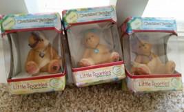 FEBRUARY, MARCH, JUNE LOT - Enesco Cherised Teddies Little Sparkles Birt... - $5.00