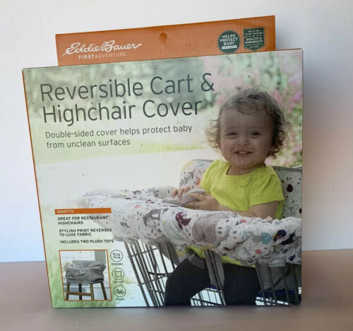 Primary image for Eddie Bauer Reversible Comfy Cart Cover & High Chair Cover NEW