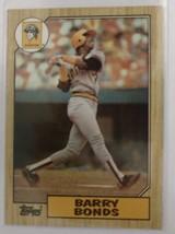1987 Topps Barry Bonds #320 Mint/Near Mint Pirates Rookie - $6.99