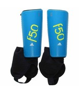 new Adidas F50 Pro Youth Soccer Shin Guard Size XL Ankle Socks Ages 14-1... - $15.68