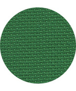 Christmas Green 18ct Aida 36x25 cross stitch fa... - $18.45