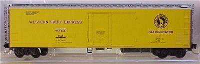 Micro Trains 69010/1 GN / WFE Reefer 805