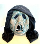 Scary Halloween Mask with Hood Old person Teeth - $17.45