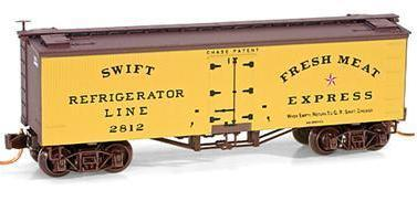 Micro Trains 05800010 Swift 36' Reefer 2812