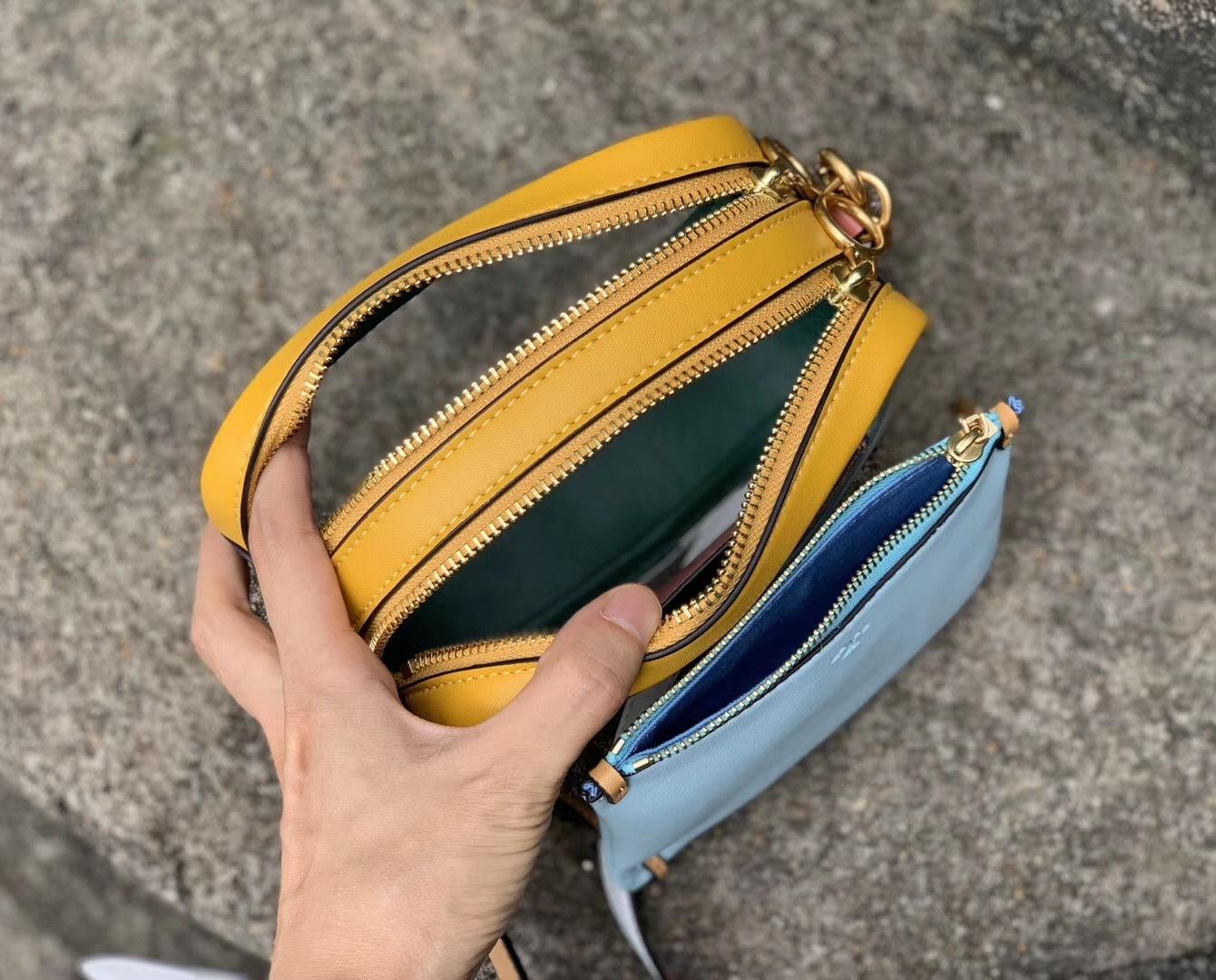 Tory Burch Perry Clear Mini Bag