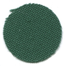Forest Green 25ct Lugana evenweave 18x27 cross stitch fabric Zweigart - $12.60