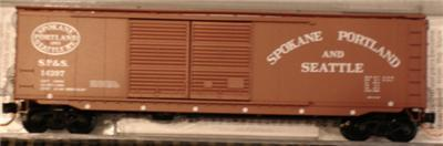 Micro Trains 03400210 SP&S 50' Boxcar 14397