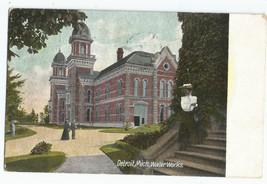 Detroit MI Mich Water Works Vintage Postcard - $7.95