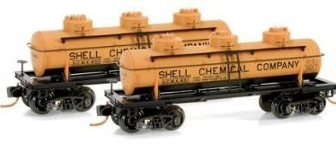 Micro Trains 06600011/012 Shell Tanker 651/652