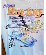 Key West  Offshore Powerboat Racing T-Shirt Large - $19.50