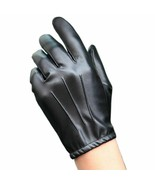 Men Leather Gloves Non-Slip Full Touch Screen Driving Motorcycle Fashion... - $21.84