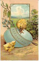 Easter Chicks Paul Finkenrath of Berlin 1907 Post Card - $8.00
