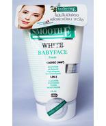 SMOOTH E 4-IN-1 WHITE BABYFACE FOAM REDUCE ACNE FINE LINE Whitening Smal... - $6.99