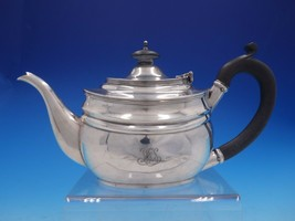 Estate Period English Silver Coffee Pot with Ebony Handle and Finial (#4... - $489.00