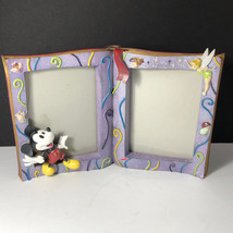 Walt Disney Picture Frame Photo 75 Years Love Laughter Mickey Mouse Pinocchio - $39.55