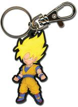 Dragon Ball Z SD SS Goku Key Chain GE36519 NEW! - $8.99