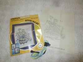 Paragon Stitchery GARDEN SERENITY Embroidery Kit #0840 by Adele Veres - ... - $7.92