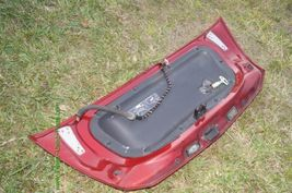 Chrysler Crossfire Convertible Rear Trunk Deck Panel Lid W/ Active Spoiler image 4