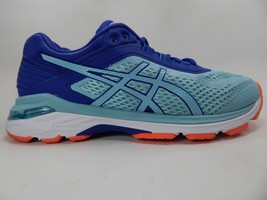 Asics GT 2000 v 6 Size US 9 D WIDE EU 40.5 Women's Running Shoes Blue T856N (D)