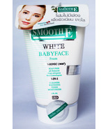 SMOOTH E 4-IN-1 WHITE BABYFACE FOAM REDUCE ACNE FINE LINE Whitening Smal... - $11.99