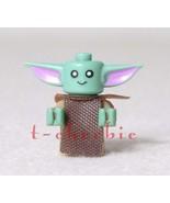 New GROGU Baby YODA The CHILD Star Wars Minifigure The Mandalorian Mando... - $6.00