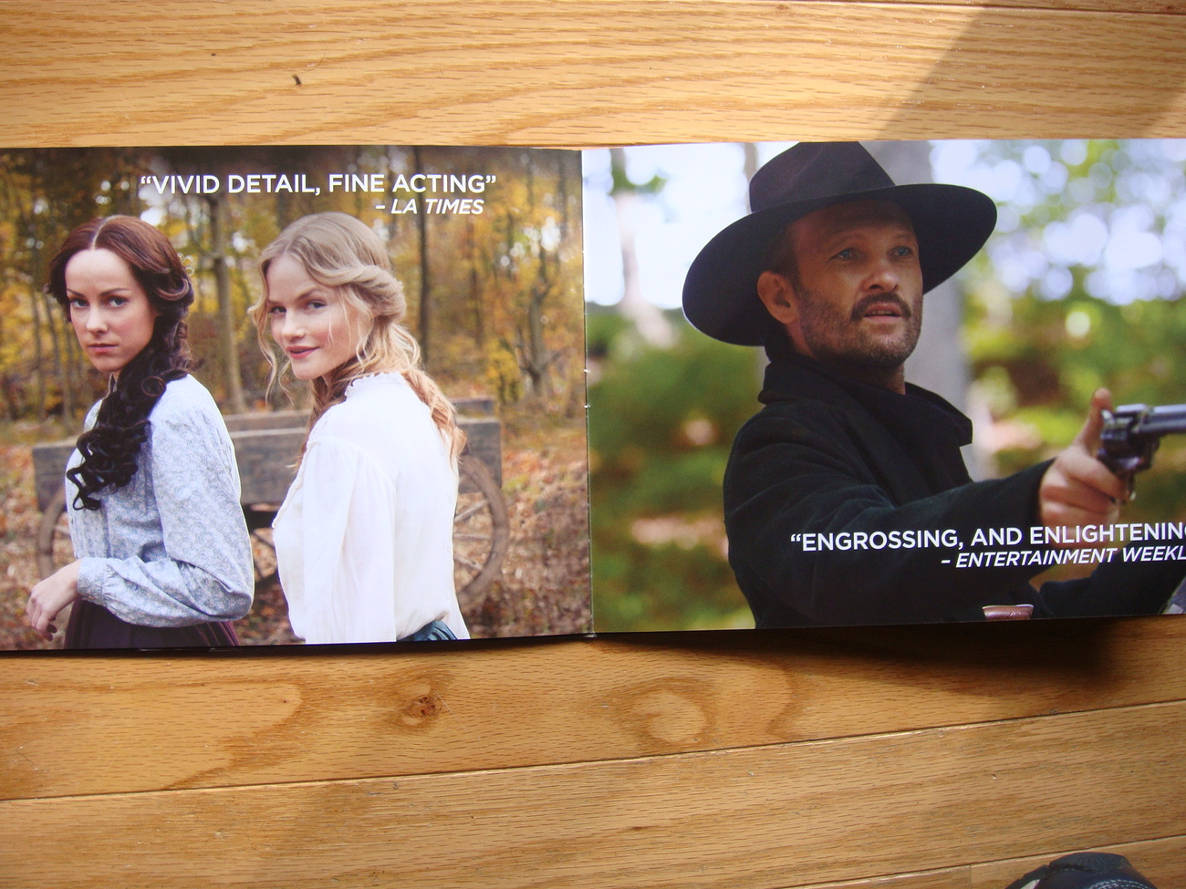HATFIELDS AND MCCOYS EMMY DVD NEW &12 PAGE PRESSBOOK KEVIN COSTNER