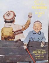 Vintage Sirdar CHILDRENS Knitting Patterns SCARF Gloves MITTENS Beret CAP 2-6 Yr - $4.95