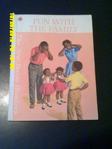1965 School Books Softcover NEW BASIC READER Fun w/ Family/Black Family ... - $19.30