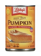 Libby's 100% Pure Pumpkin 15 oz.- Exp 2021 or better - $9.99