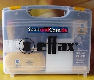Effax Leather Care Kit Black
