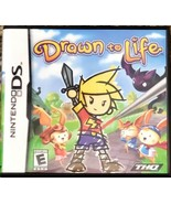 Drawn to Life (Nintendo DS Game  2007) by THQ Complete With Instruction ... - $6.93